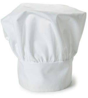 mũ đầu bếp trắng